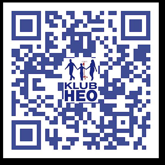 Klub HEO - QR kod 500 px